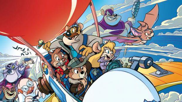 Головними героями мультсеріалу є класичні діснеївські персонажі - бурундуки Чіп і Дейл, а також троє їх друзів - мишка-винахідниця Гайка, австралійськ