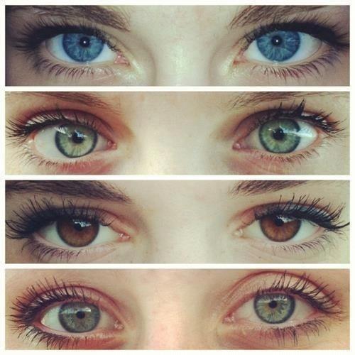 Якщо людина хоче тимчасово змінити колір очей, найчастіше це досягається за допомогою контактних лінз.Люди, які бажають змінити колір очі надовго, мож