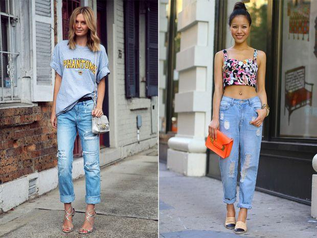 У моду повернулися джинси - бойфренди. На сьогодні, вони витісняють скінни. Отже, з яким взуттям гарно дивитимуться ці стильні джинси - читайте далі у