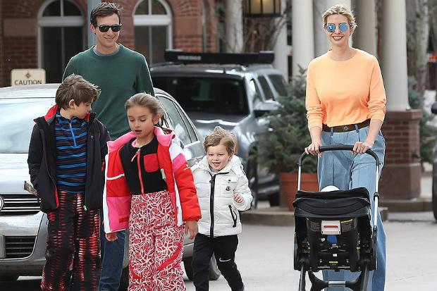 Фото дня: Іванка Трапм із сім'єю влаштувала собі весняні канікули