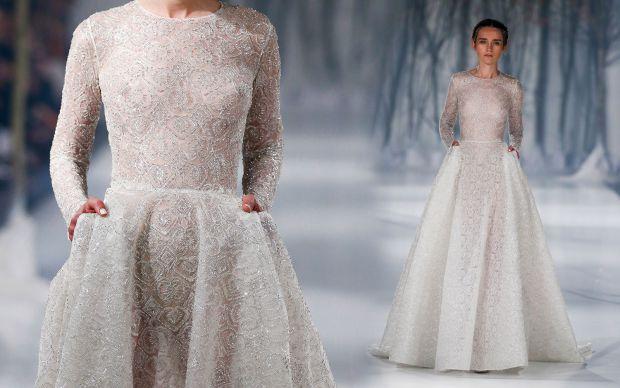 Paolo Sebastian Fall 2016 Couture Collection представляє надзвичайно ніжні, витончені і водночас відверті сукні для наречених та подруг молодої.