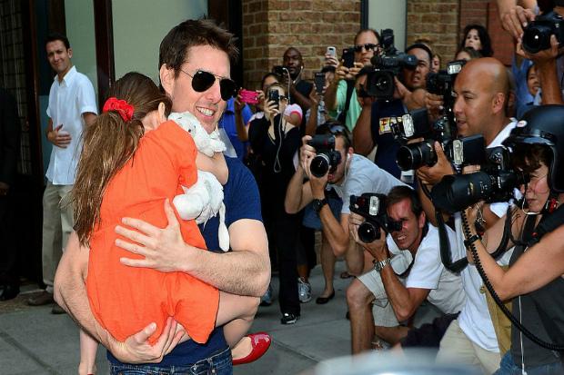 Том Круз вирішив повернути доньку