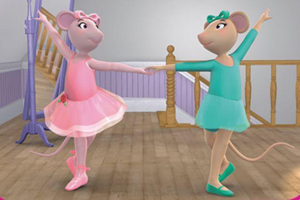 Неймовірні пригоди маленької балерини.