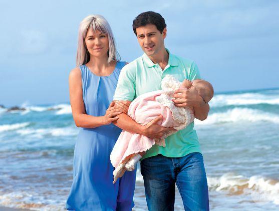 Інформація про те, що Вікторія Макарська чекає на другу дитину, з'явилася зовсім недавно. Проте вже зараз вона планує летіти до Ізраїлю, де народилася