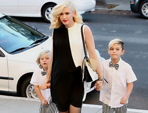 Вагітна Гвен не даремно носить горде звання ікони стилю. Це вона вкотре довела своїм виходом разом із синами.