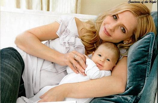 Сара Мішель Геллар народила сина ще в вересні. Але зірковим батькам вдалося тримати ім'я сина довгий час в секреті.