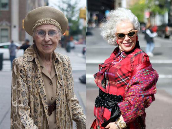 Літні жительки Нью-Йорка не збираються пасти задніх: не зважаючи на свій вік, вони зуміли вберегти свою елегантність та вишуканість від нещадного впли