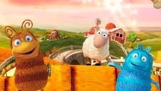 Цього разу Приг і Скок виглядали у бінокль та побачили овечку.