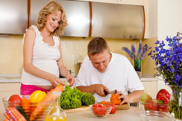 Саме на цьому строку варто приділити особливу увагу харчуванню майбутньої матусі.