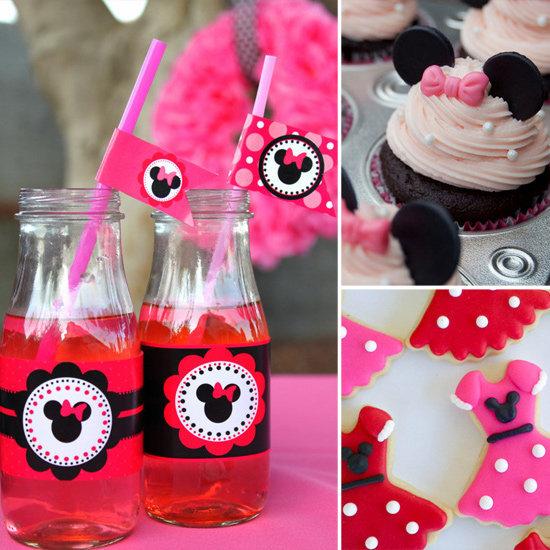 Идеи, как отметить день рождения девочки_ A Minnie Mouse Party