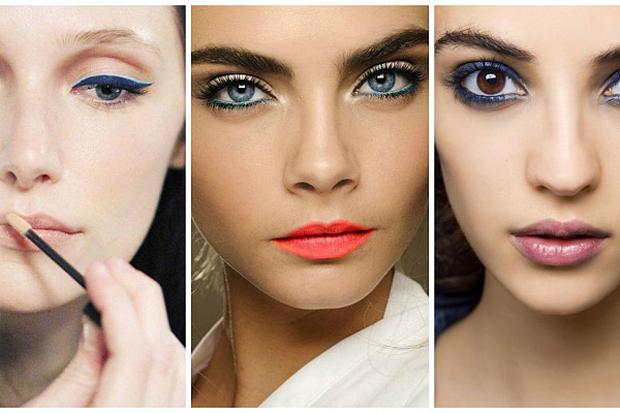 Макіяж в синіх тонах залишається одним з головних beauty-трендів. Ефектно, оригінально, стильно - ідеальний вибір для святкового макіяжу.