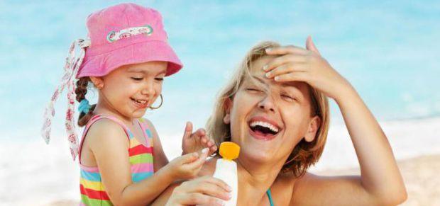 Захищаємо малюка від сонячних опіків