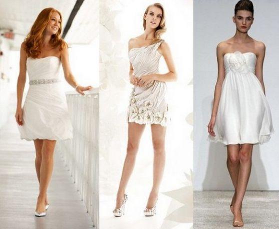 На зміну традиційним пишним білим весільним сукням поступово приходять нові, куди більш сміливі в плані дизайну моделі - наприклад, весільні вбрання в