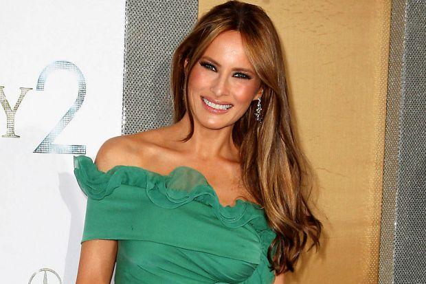 Вперше дружина президента Америки знімається у ролі першої леді.