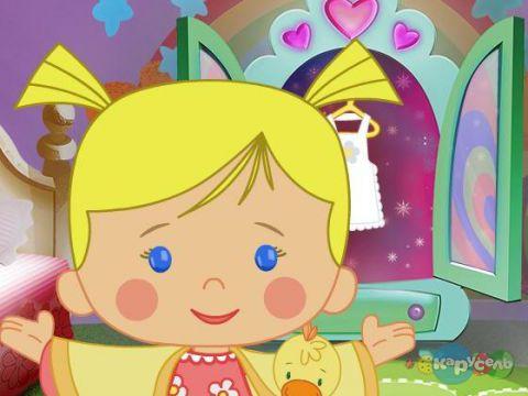 Розвиваючий мультик для малят від 3-х років про дівчинку Хлою та її друзів.