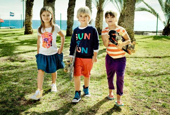 Прогресивний європейський бренд пропонує зручний літній одяг для дітей.