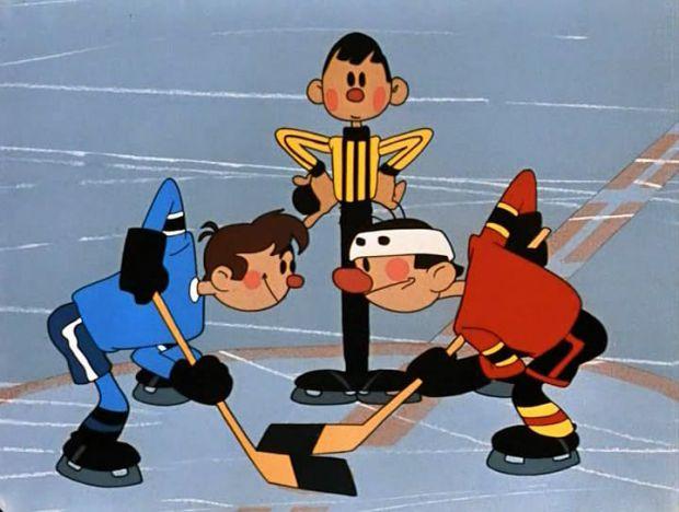 Хокейний матч між зазнайками