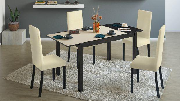 Трансформер — это предмет, способный изменять свои параметры. Если вся остальная мебель имеет большие габариты по вертикали, то стол, особенно обеденн