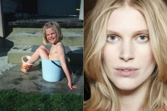 Дивимося дитячі фотографії відомих моделей.