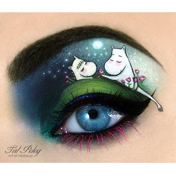 Очі - дзеркало душі, яке завдяки чарам візажиста Таль Фалека перетворюється на щось казкове і неймовірно красиве.