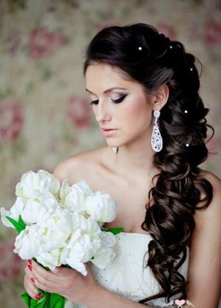 Прически на свадьбу, фото